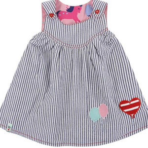 Other - Carousel Theme REVESIBLE 100% cotton Inf Grl Drs